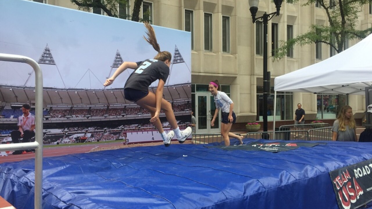 Capture the spirit of the Olympics in Indy