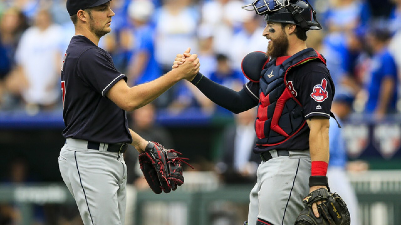 Carrasco and Bauer stifle Royals' bats in Indians' 2-1 win