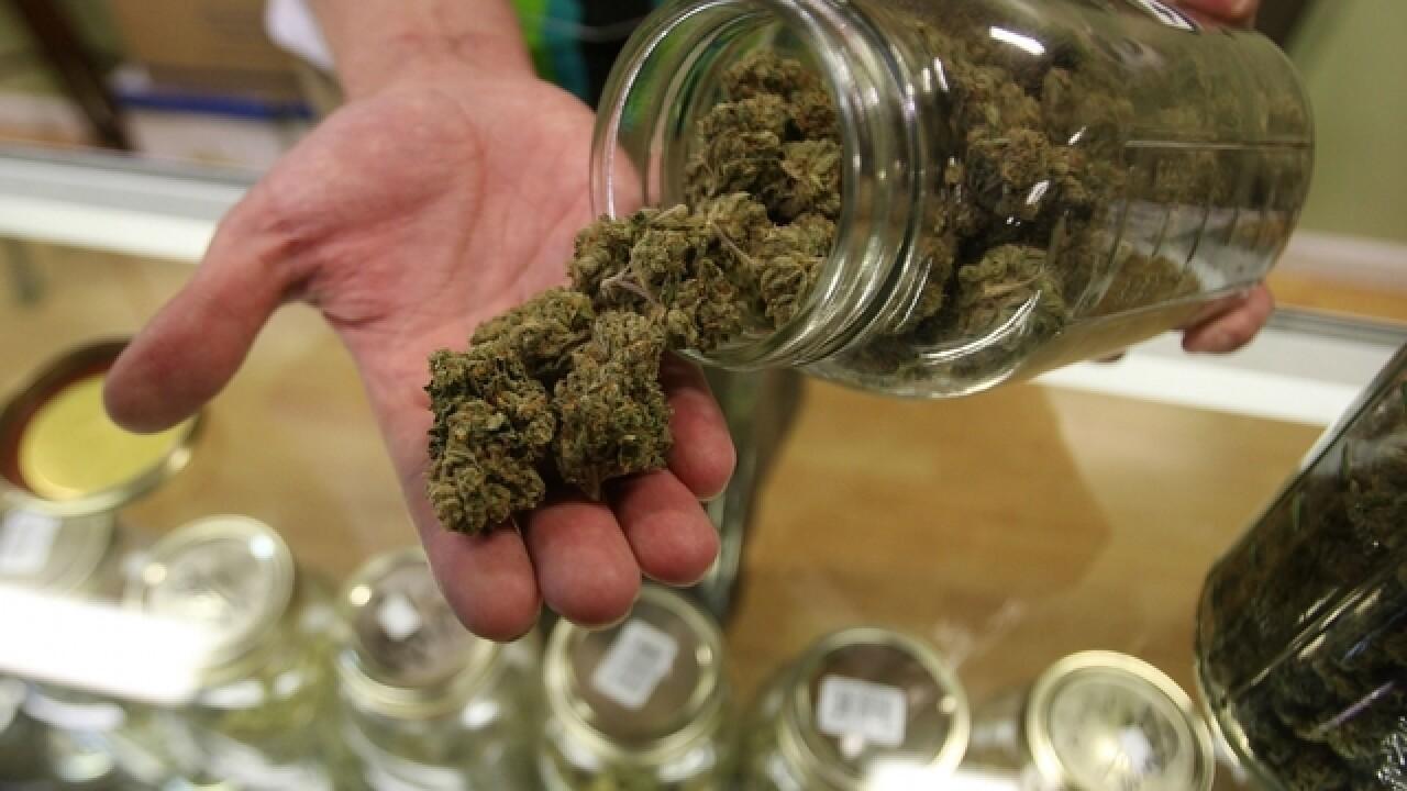 Agencies shut down 10 pot shops, seize marijuana