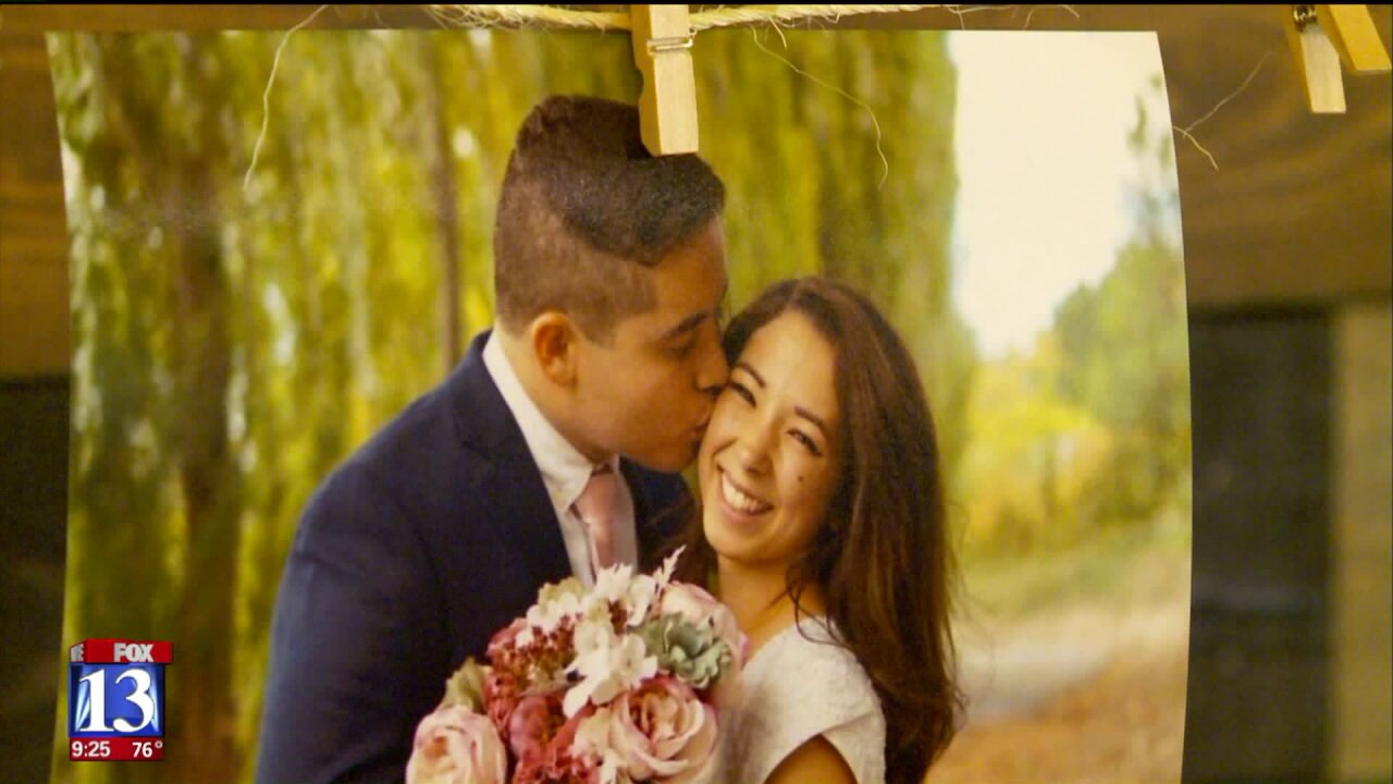 Couple gets second chance thanks to flood of donations after wedding spoiled by Utah County fireevacuations