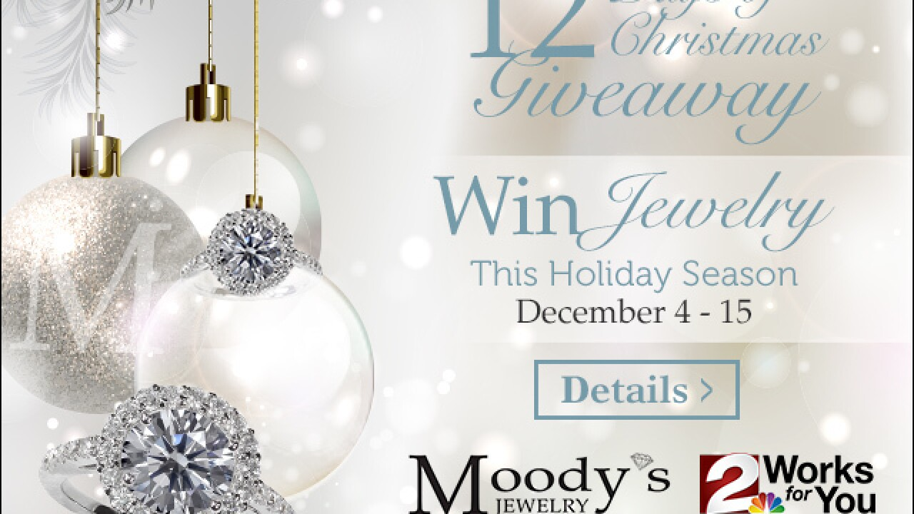 CONTEST: Moody's 12 Days of Christmas Giveaway 2