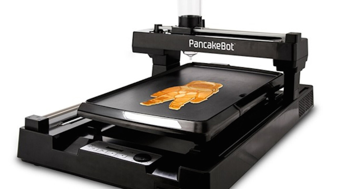 Print your breakfast pancakes with this 3D printer, complete with griddle