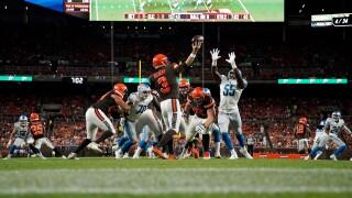 Browns beat Lions in final 2019 preseason game
