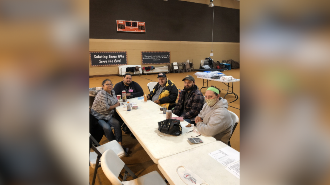 FUMC Beeville step in as a warming shelter for folks in need