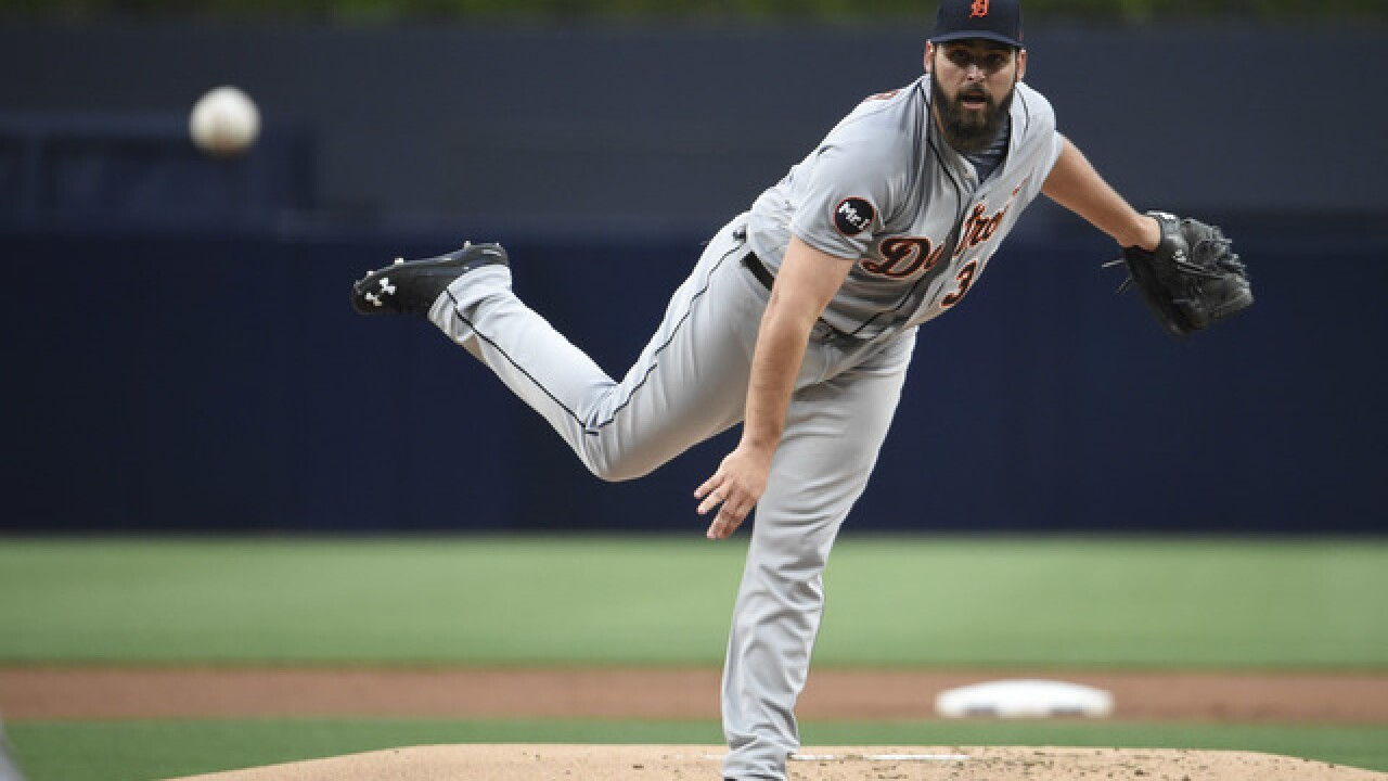 34a4aff049d Tigers pitcher Michael Fulmer selected to 2017 MLB All-Star Game