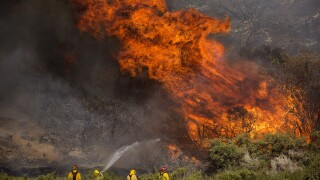 Vehicle malfunction sparked Apple Fire in Southern California