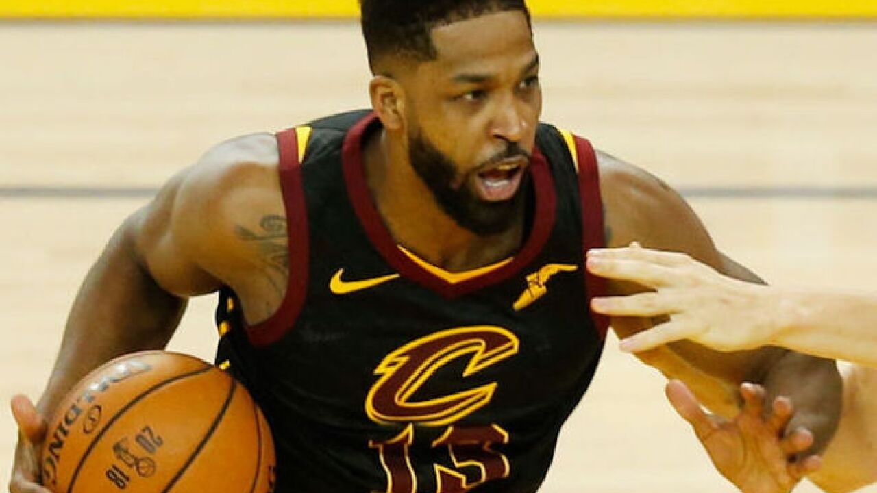 NBA player Tristan Thompson storms out on reporters after being asked if he felt 'helpless'