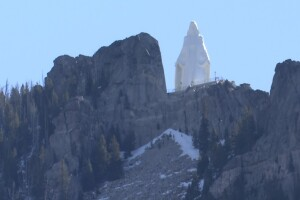 Tram to Lady of Rockies statue would lift tourists -- and Butte's economy