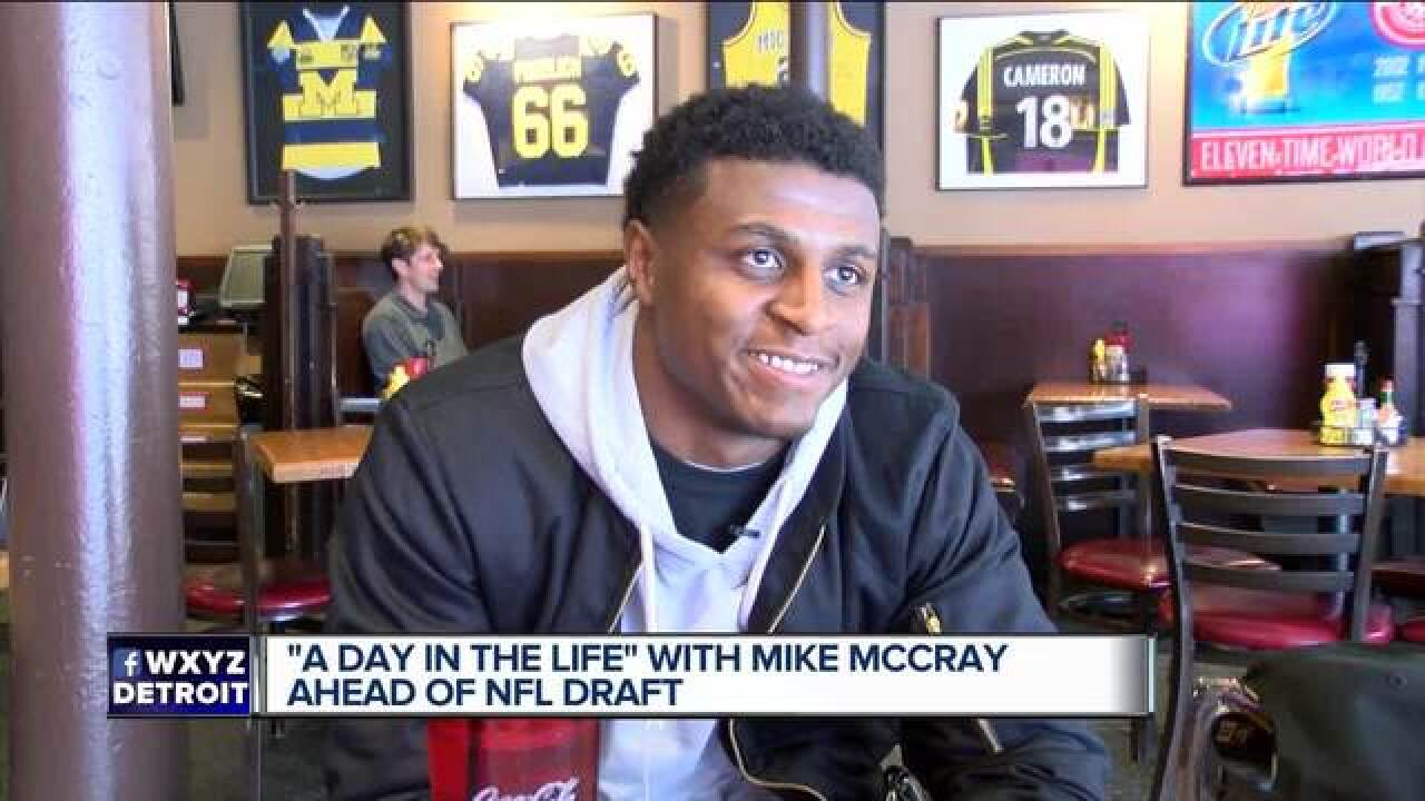 A day in the life: Michigan's Mike McCray