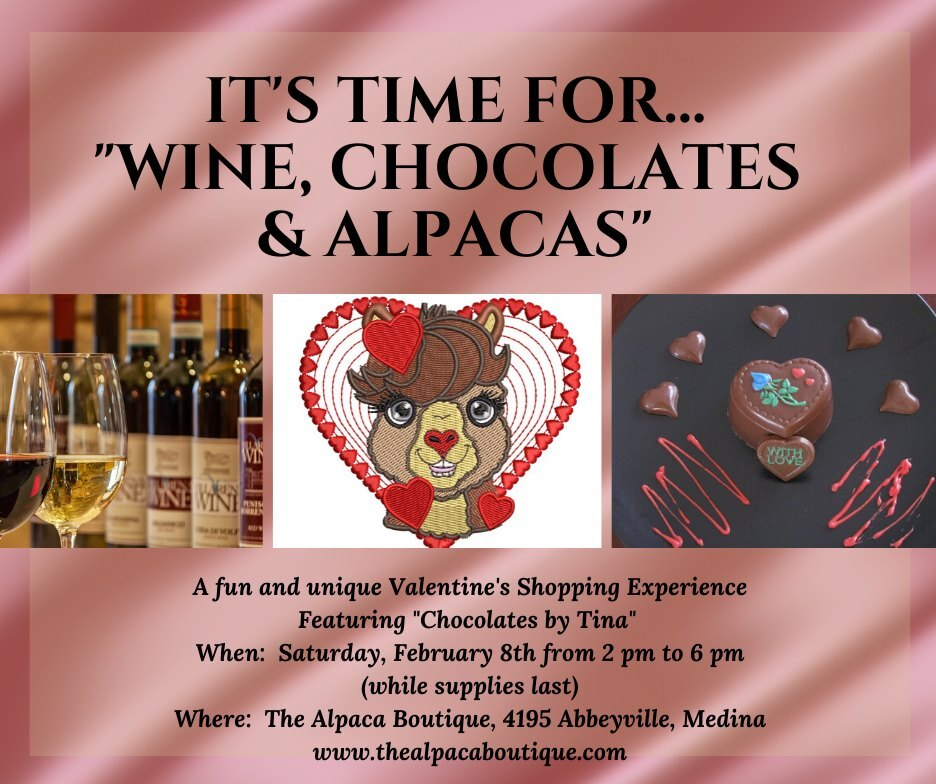 Wine, Chocolates and Alpacas
