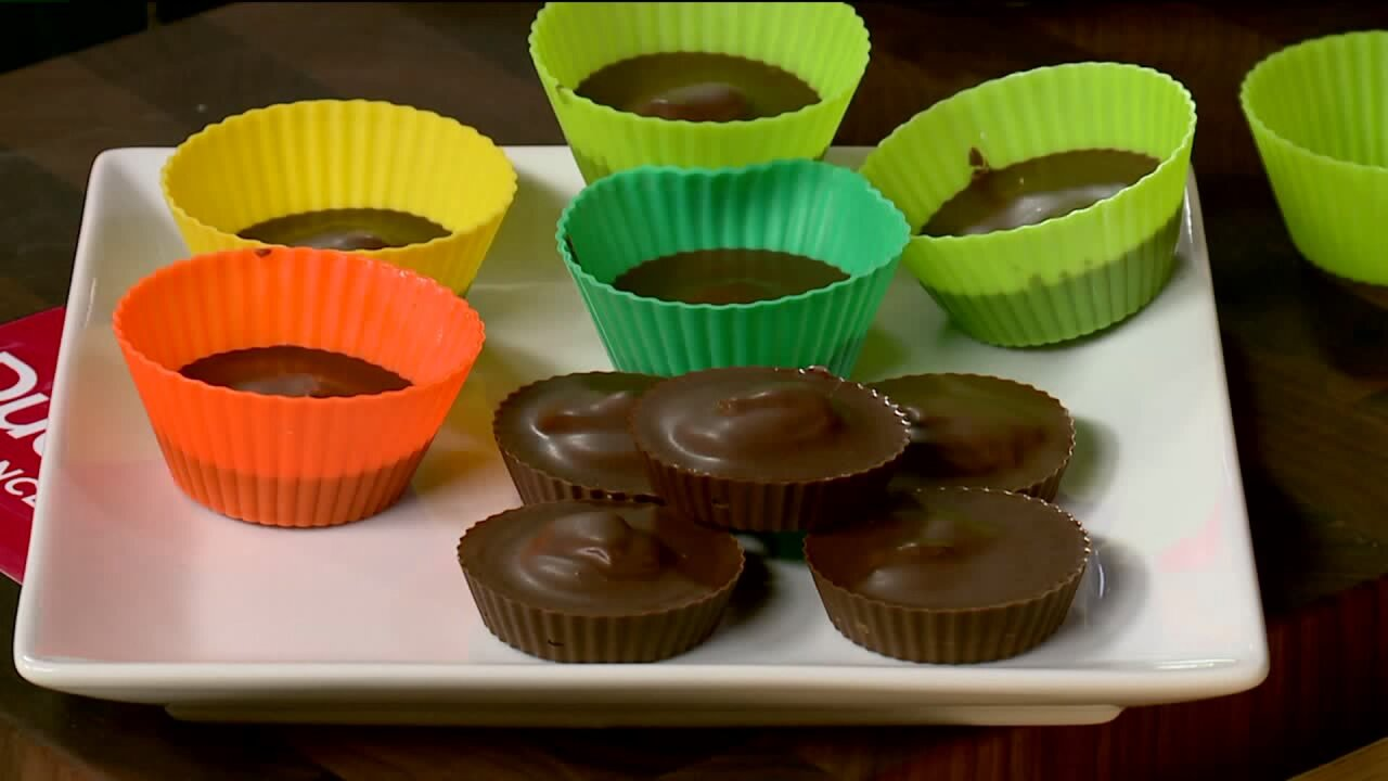 Recipe: Protein-packed peanut butter cups and healthy nut bread