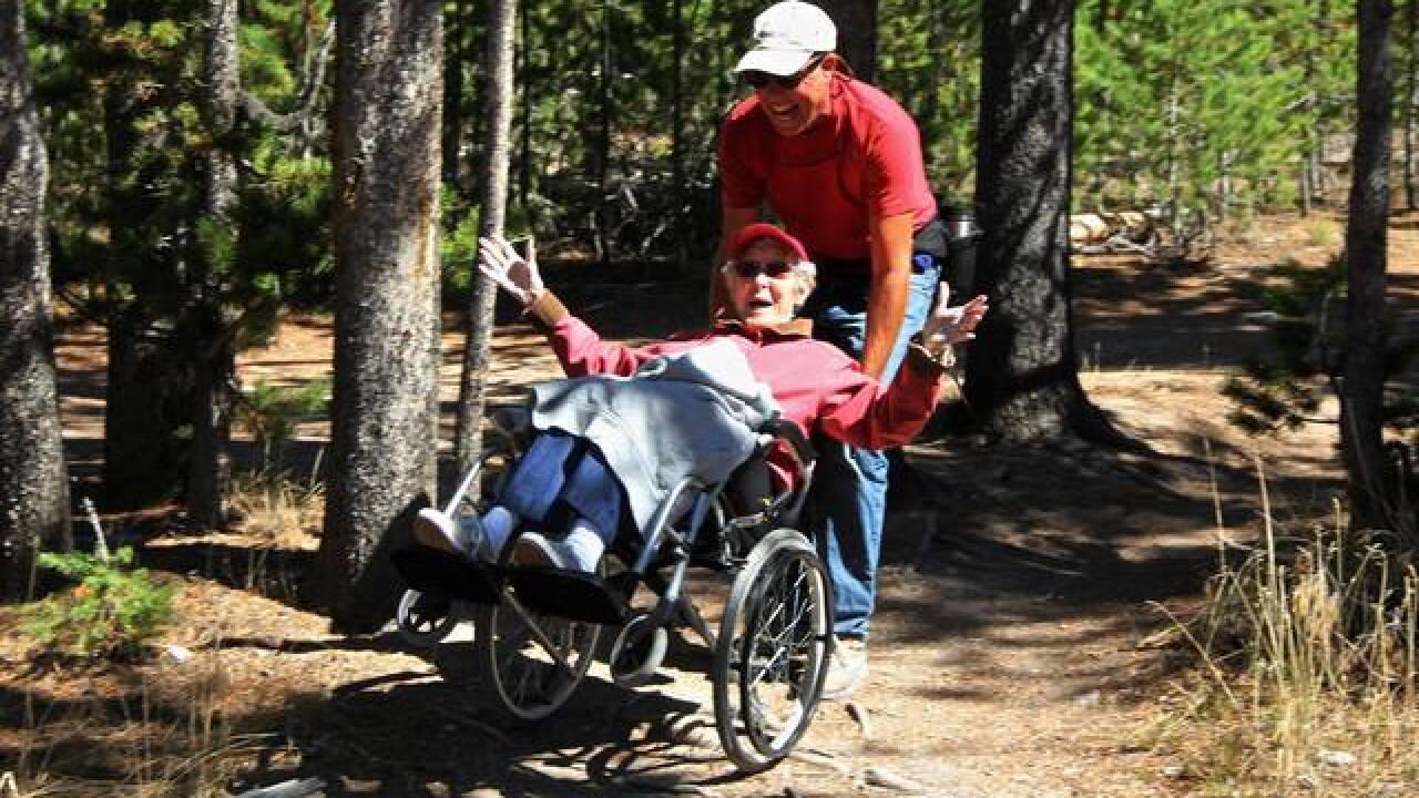 90yo chooses amazing trip over cancer treatment