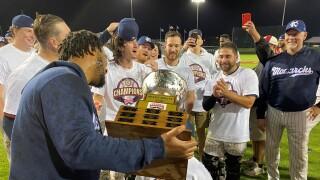 Kansas City Monarchs win American Association championship