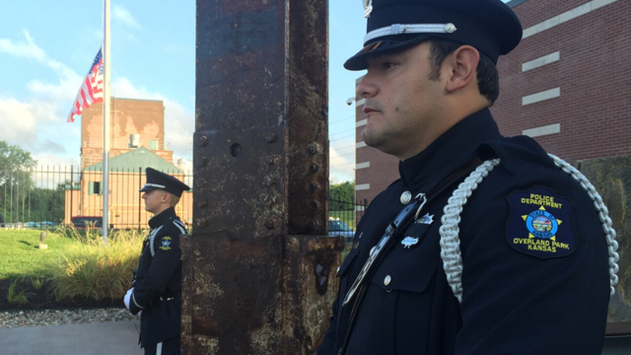 Remembering: Overland Park holds 9/11 ceremony