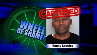 Wheel Of Shame Fugitive Arrested: Randy Beasley