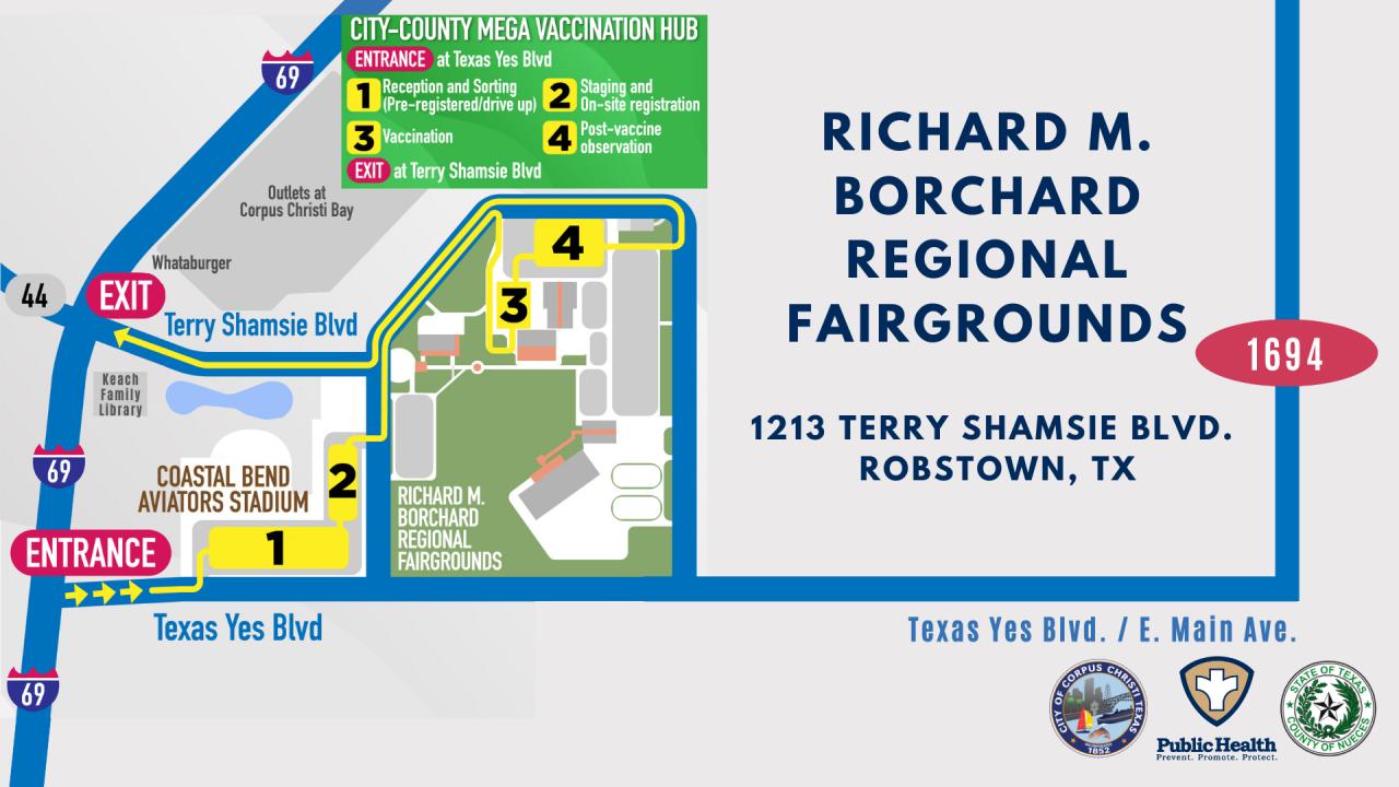 Map of Richard M. Borchard Fairgrounds