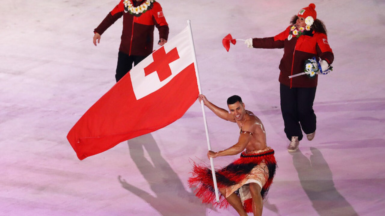 Tonga's famous flag bearer Pita Taufatofua achieves his 'impossible dream'