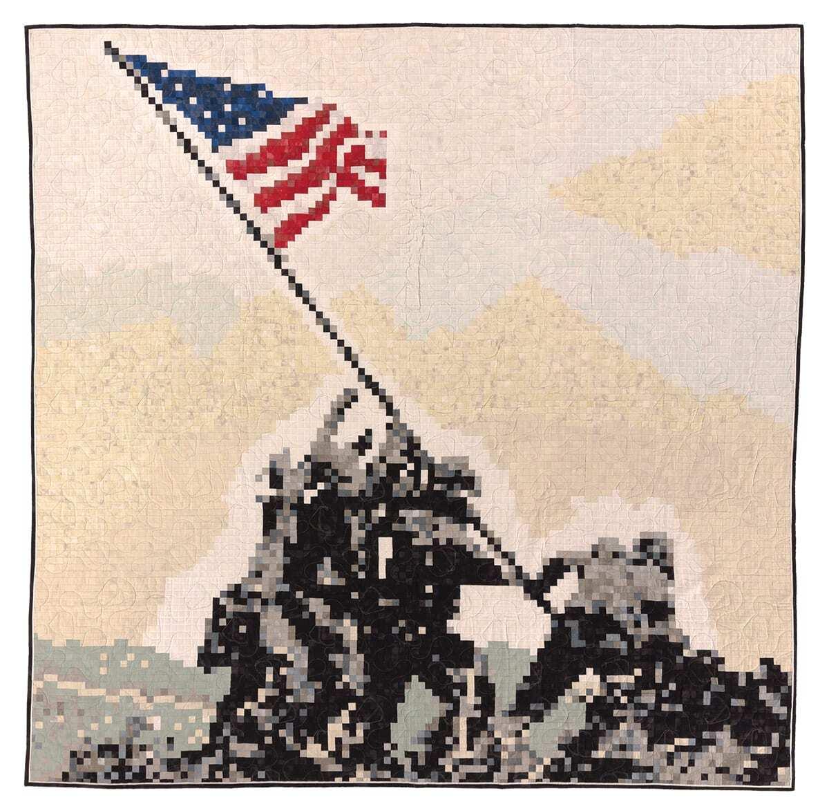 Iwo Jima Quilt