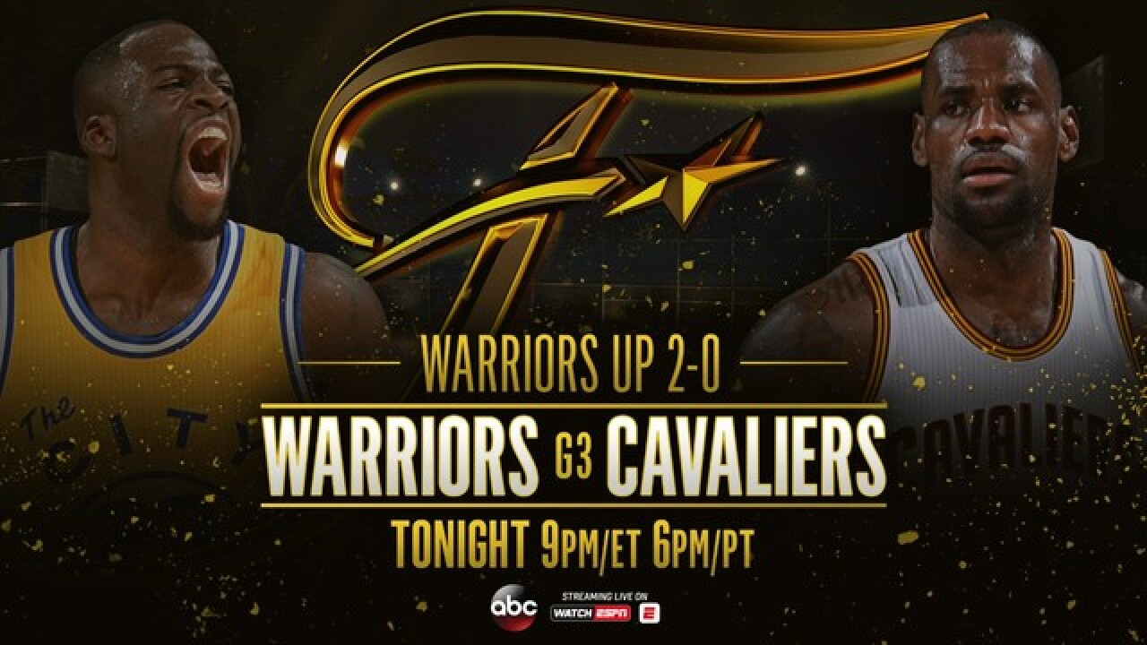 Live Blog Cavs Vs Warriors In Game 3 Of Nba Finals