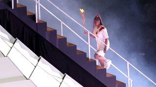 Naomi Osaka lights Olympic cauldron at Tokyo Opening Ceremony