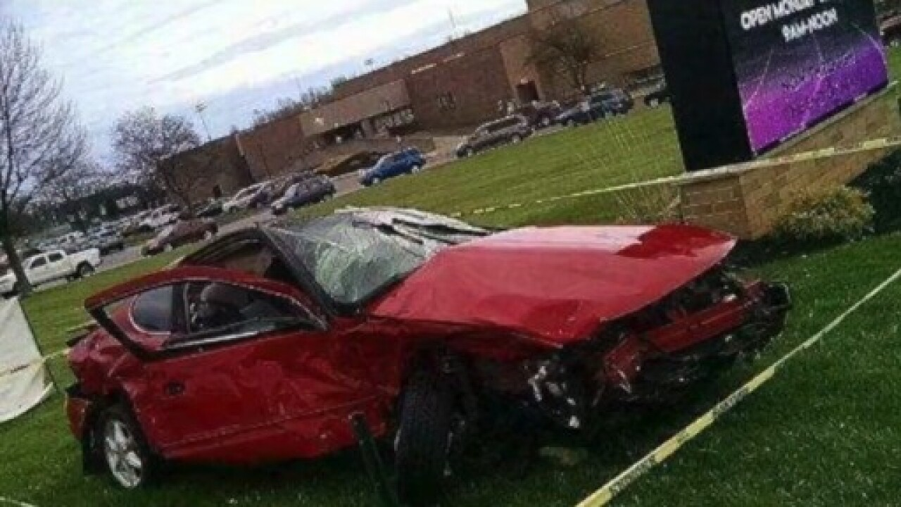 Car in fatal crash used in prom promise campaign