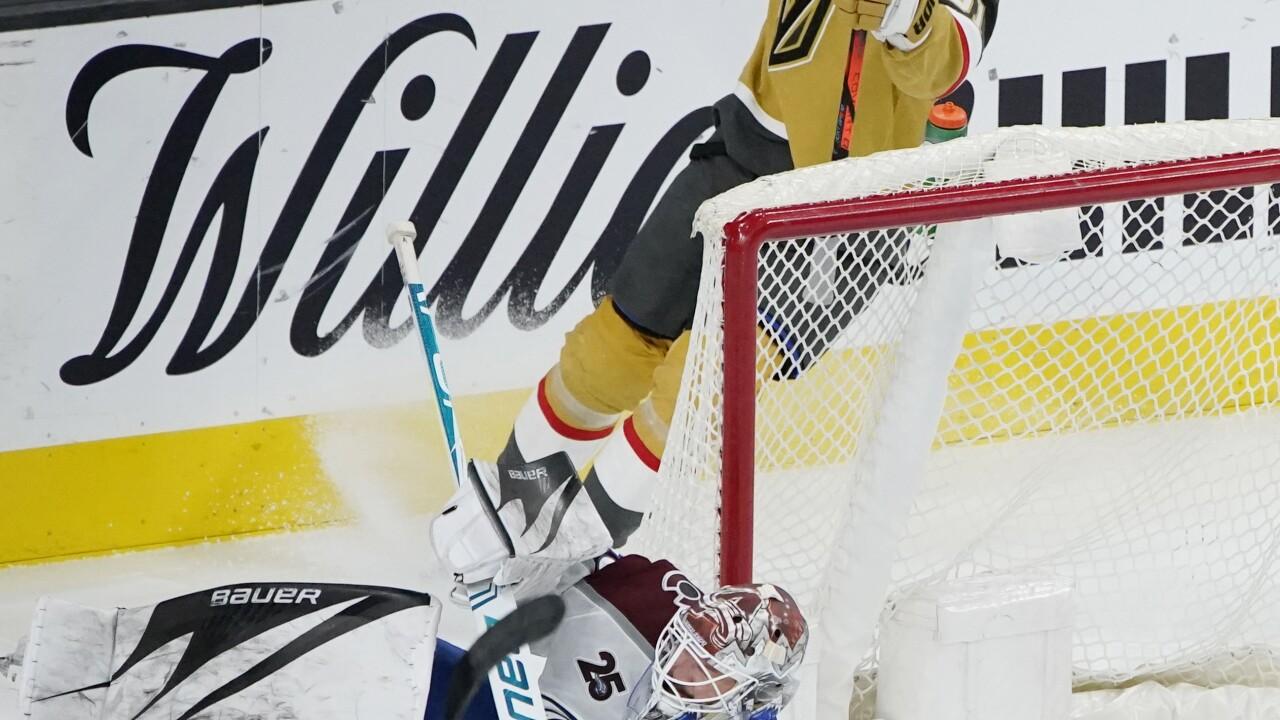 Avalanche Golden Knights Hockey