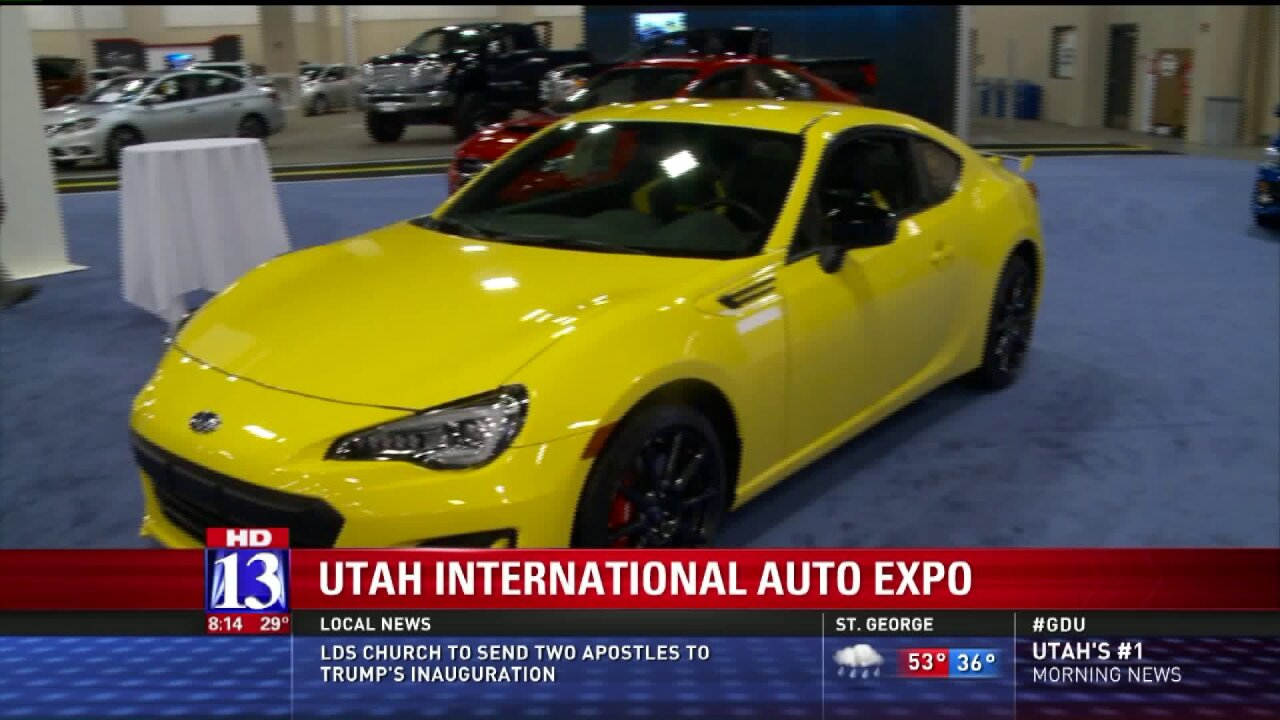Big Budah previews the Utah International Auto Expo which opens Saturday inSandy