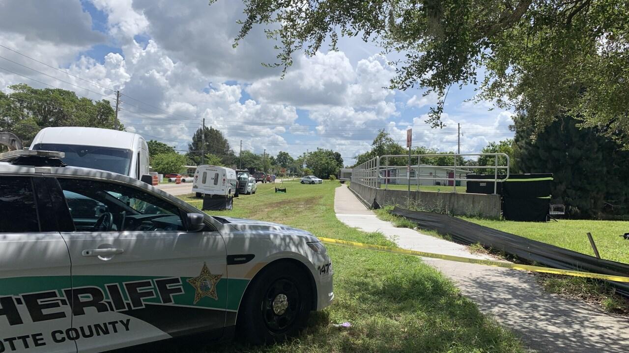 Death investigation Charlotte County