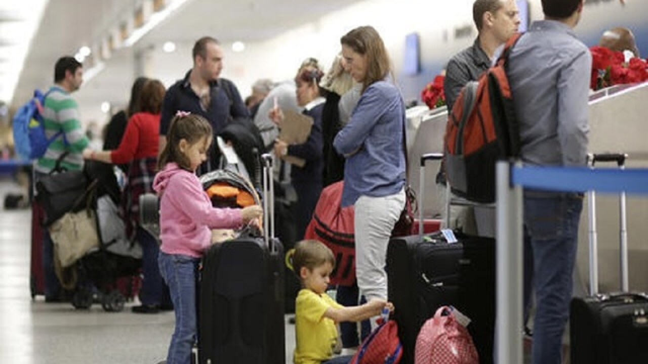 US airlines expect Thanksgiving travel to rise 2.5 percent
