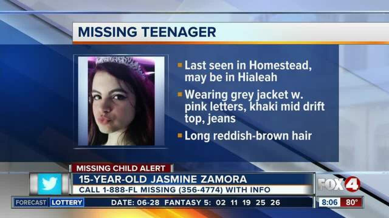 15-Year-Old girl reported missing