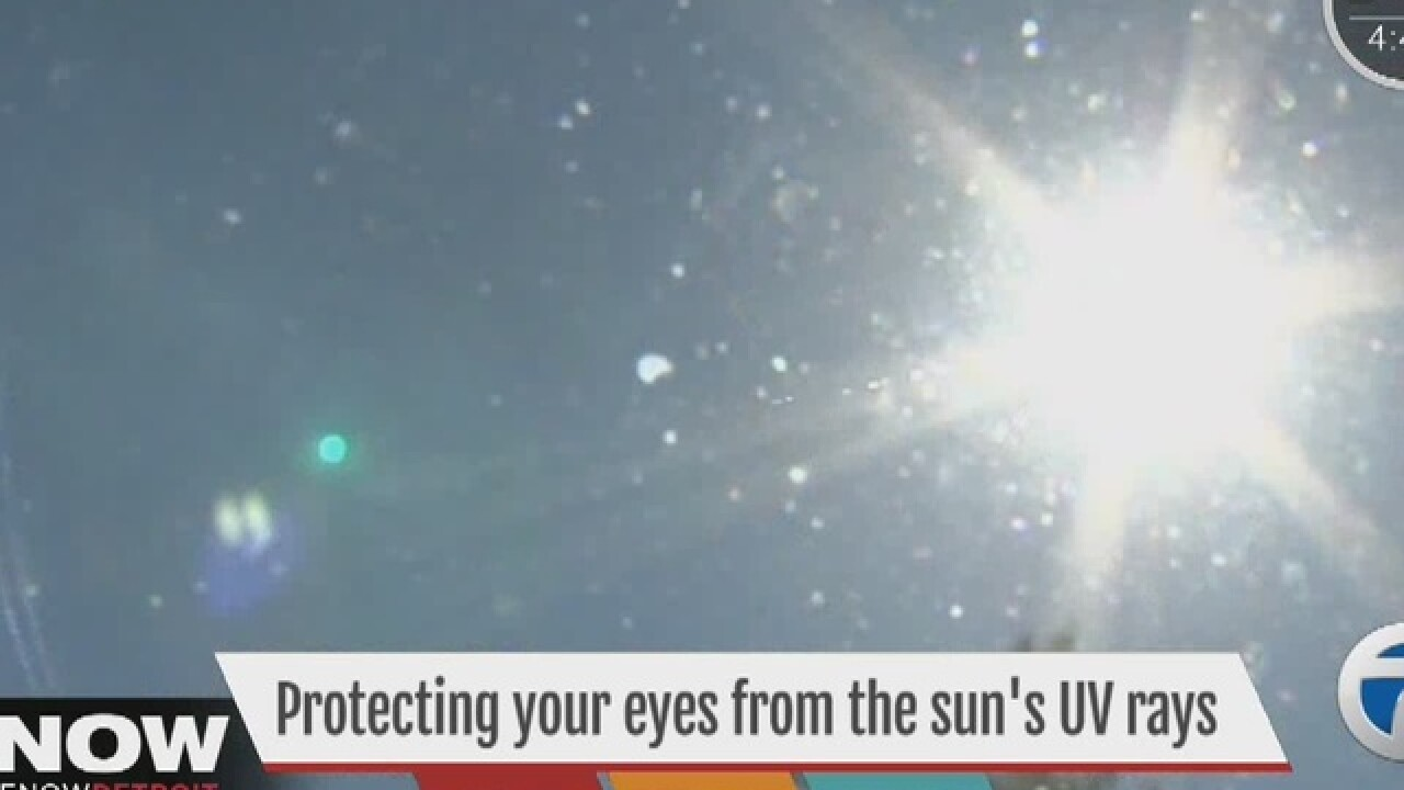 Protecting your eyes with sunglasses, Dr. Nandi's prescription for protecting your eyesight