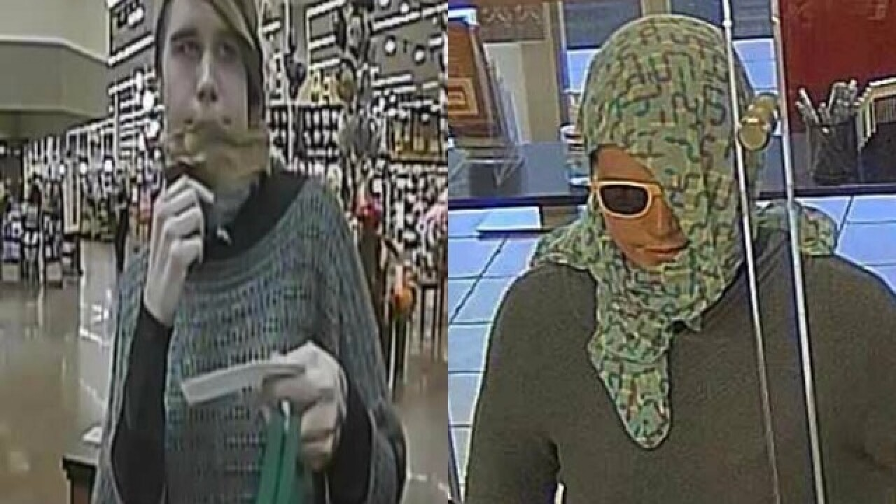Police warn of suspect involved in four Valley armed robberies