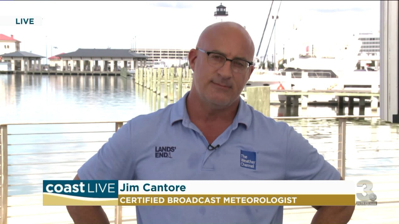 Hurricane preparedness with Jim Cantore on CoastLive