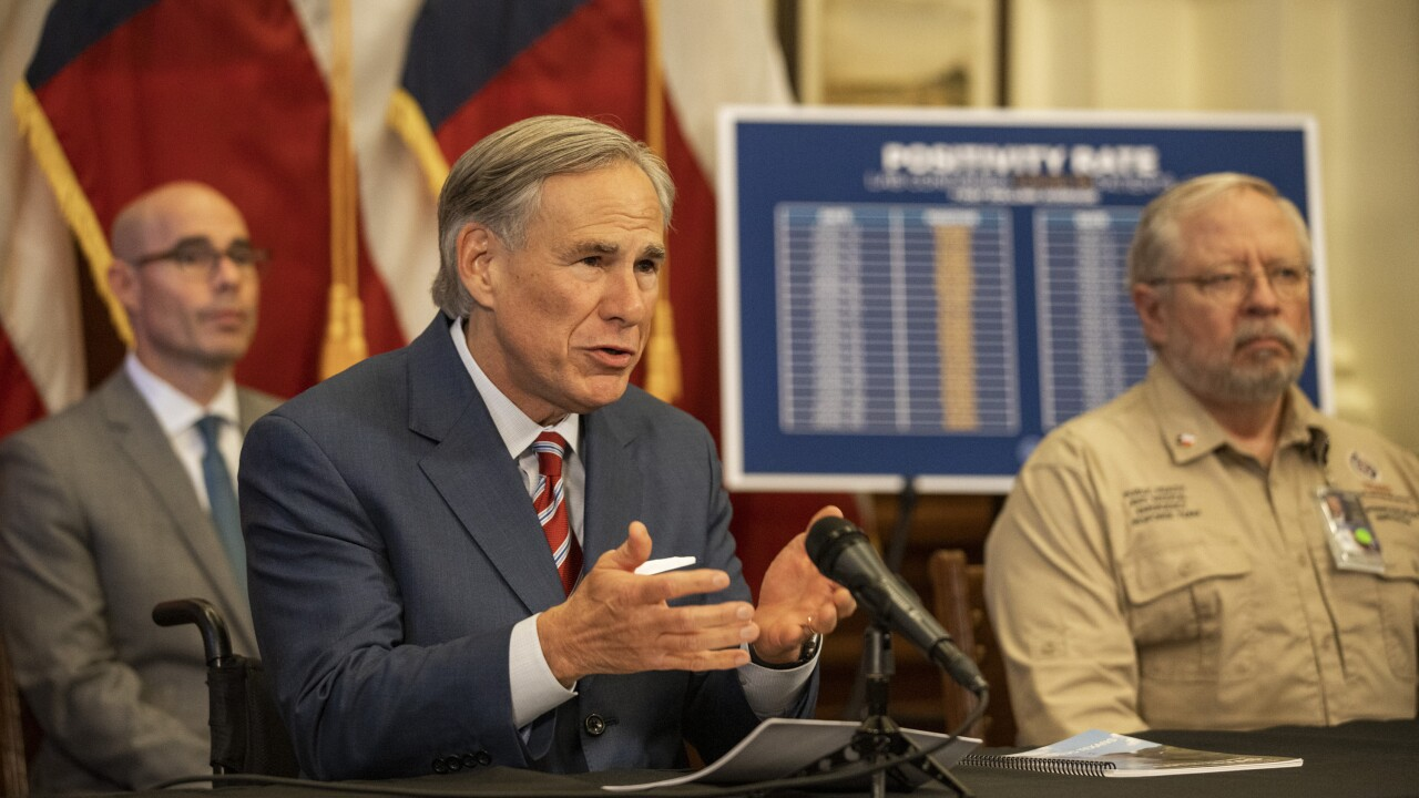 Texas Governor issues executive order expanding hospital capacity