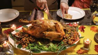 Yes, you can bring your Thanksgiving turkey on an airplane. Just check the gravy.