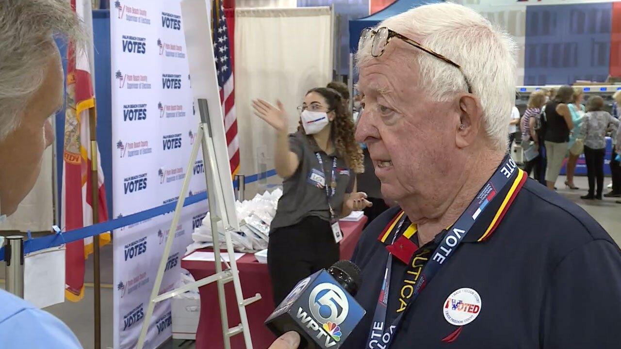 Jim McCann, Palm Beach County GOP voter