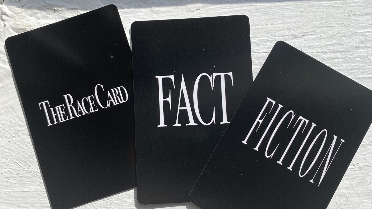 Pulling the Race Card game aims to help the fight against racism