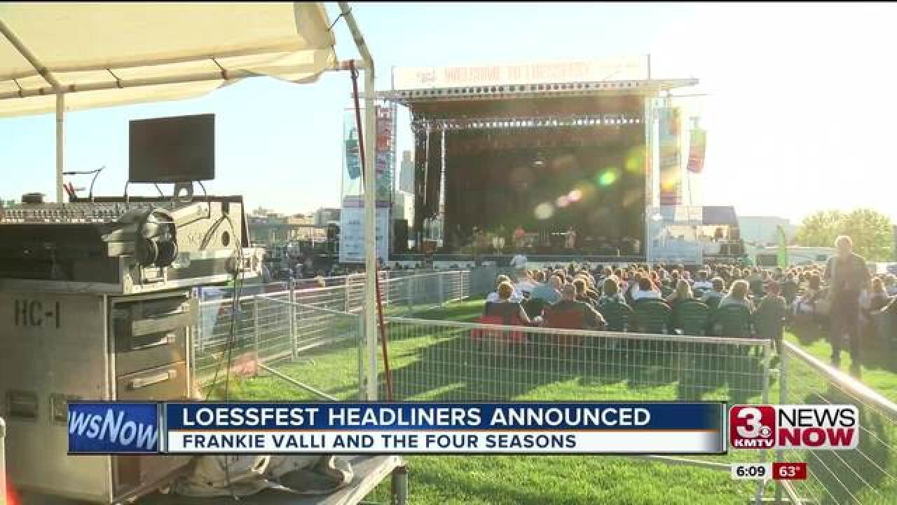 Loessfest concert delayed to due to heat Sunday night