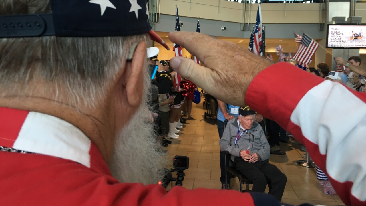 Honor Flight San Diego Oct 2019