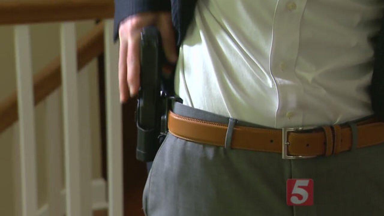 gun on waist