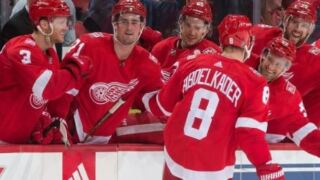 Abdelkader's seventh-round shootout winner lifts Red Wings over Sharks