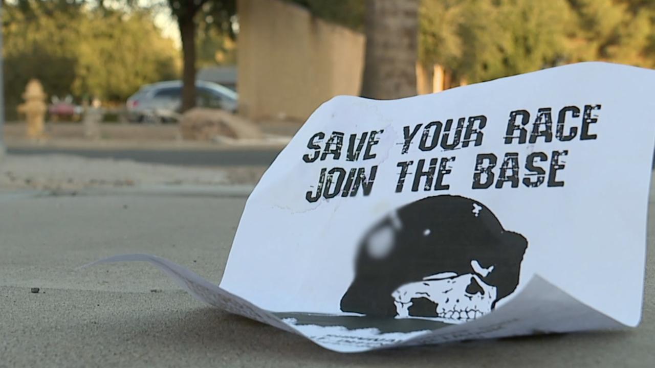 White supremacist flyer found in Phoenix