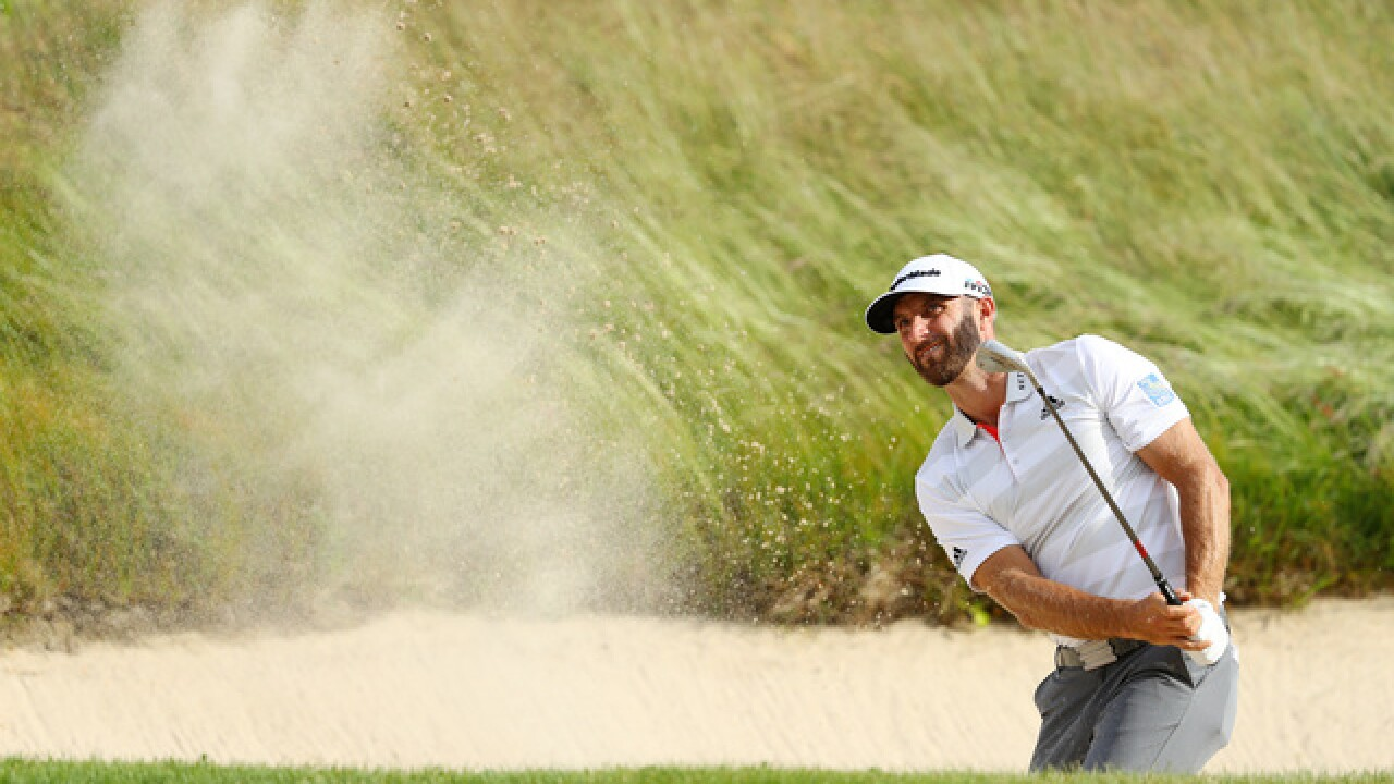 Dustin Johnson shares lead in a US Open that plays like one