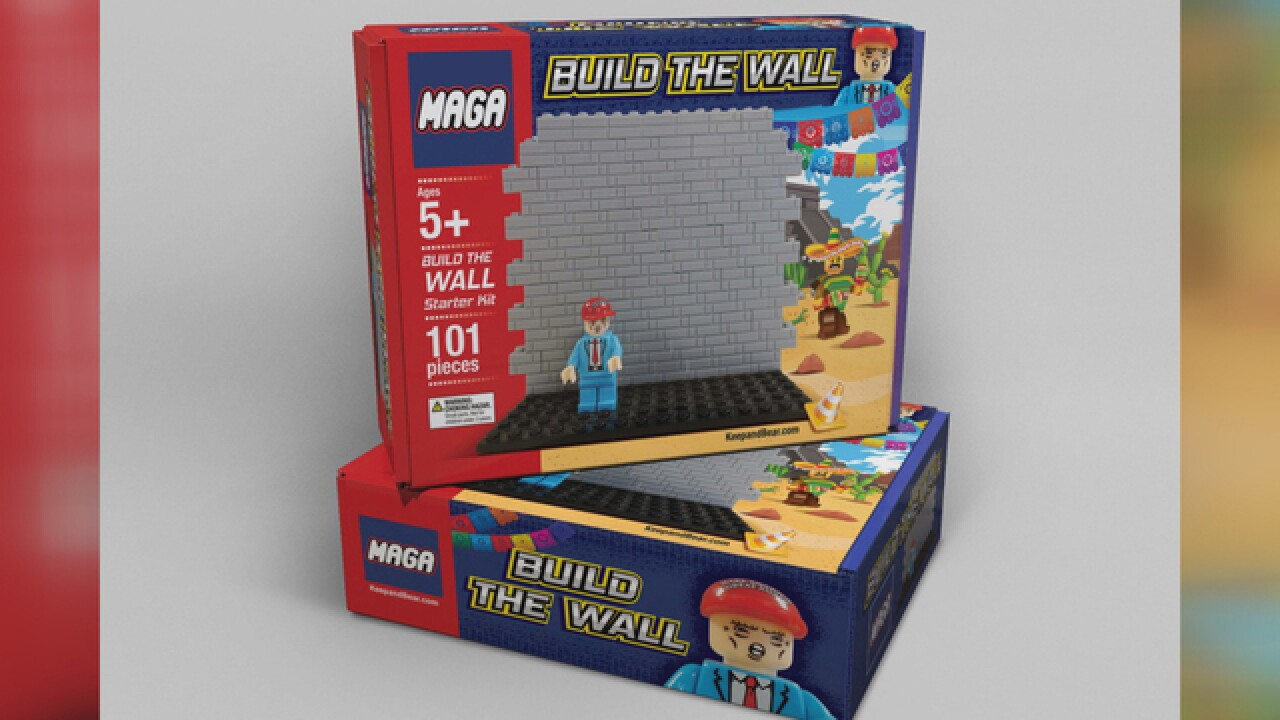 'MAGA' blocks set encourages kids to build wall