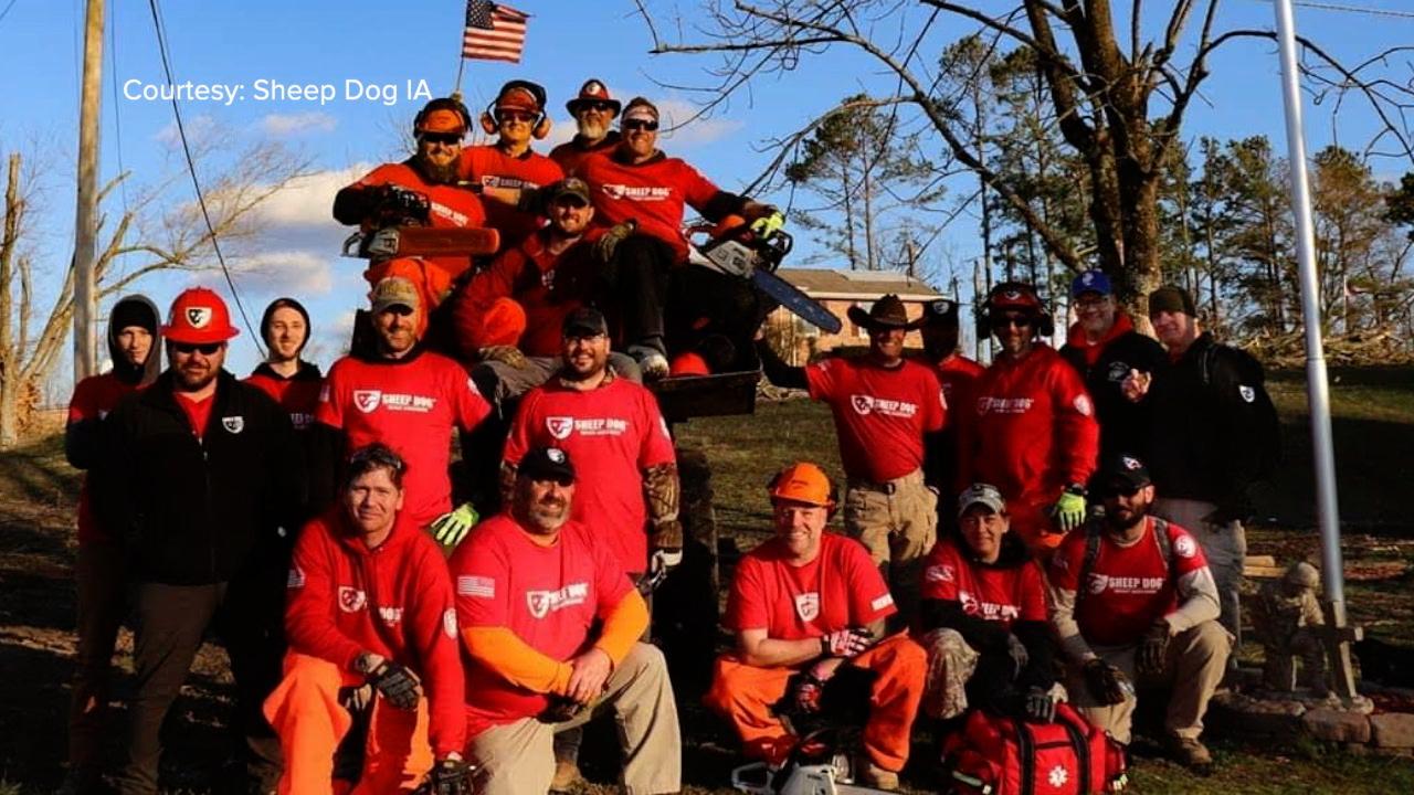 Sheep Dog veterans and volunteers