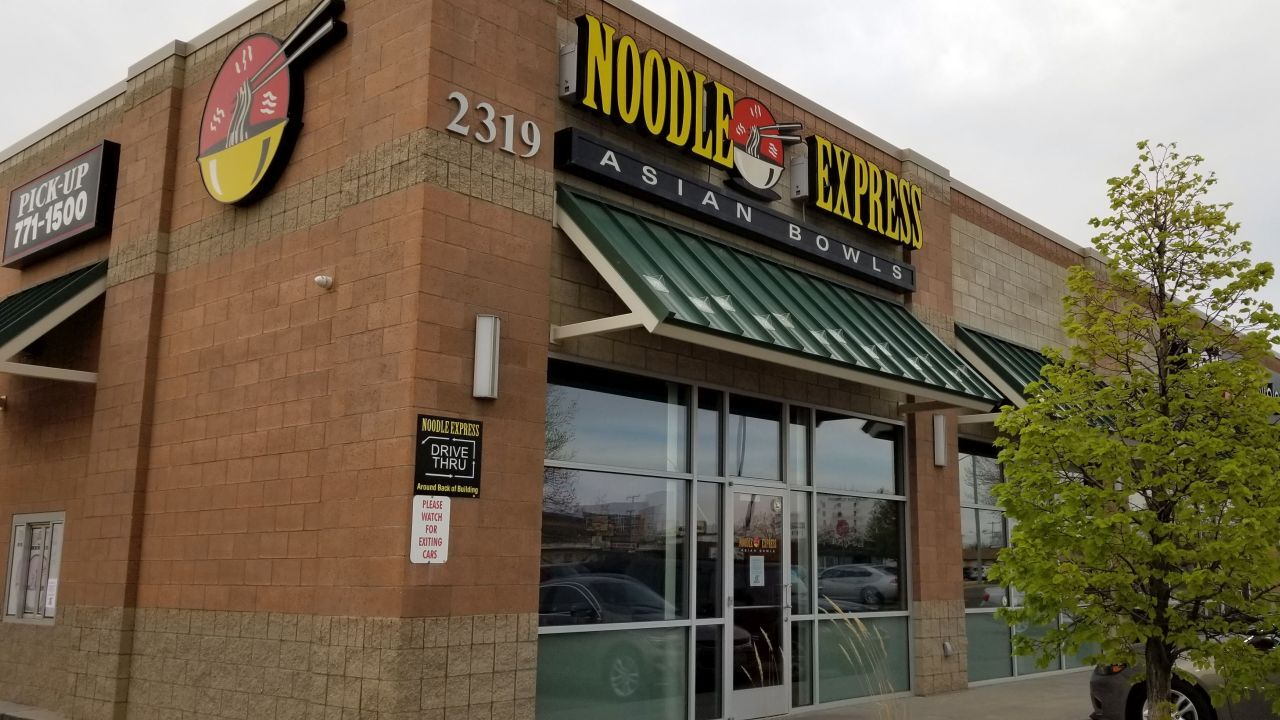 Noodle Express closed in May 2019.