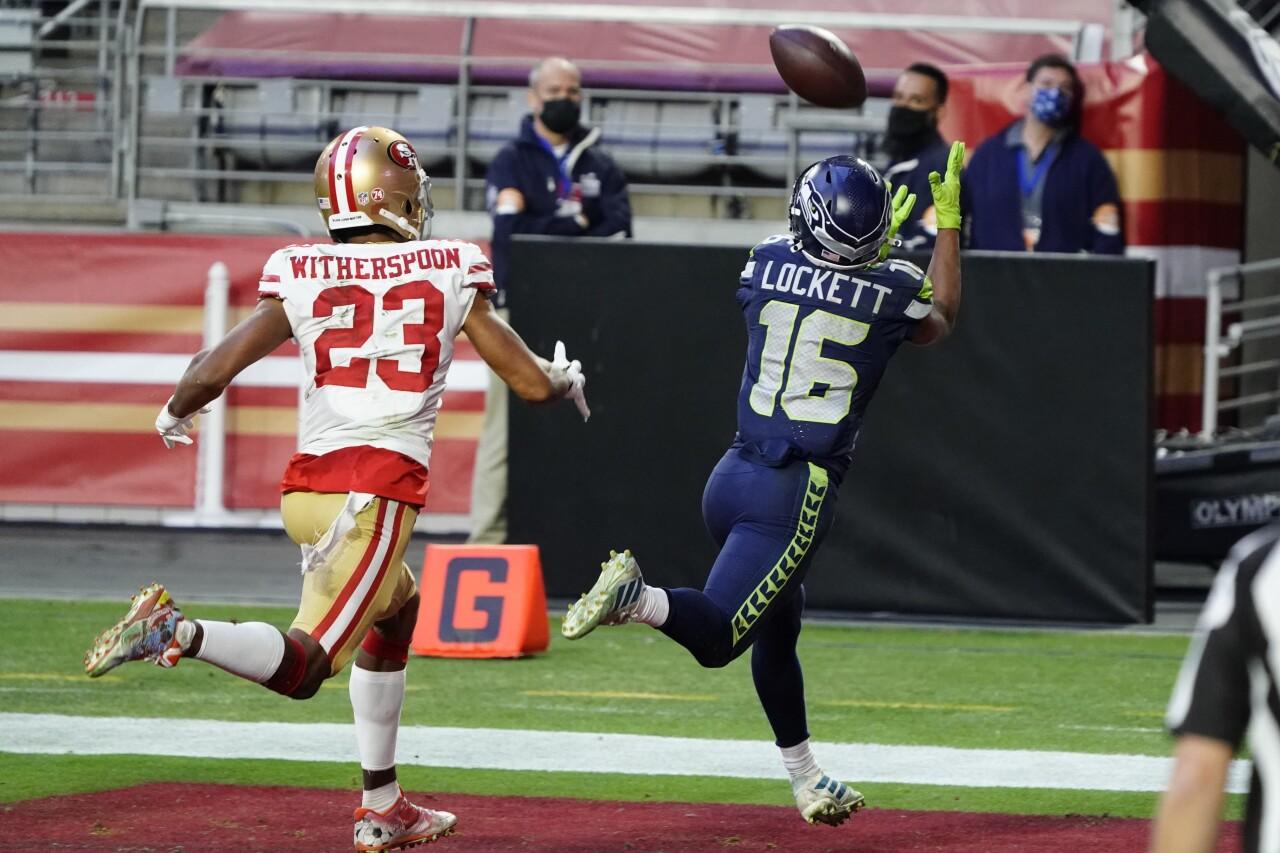 Seahawks 49ers Football - Tyler Lockett