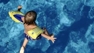 Swimming pool summer child floaties water wings 072709