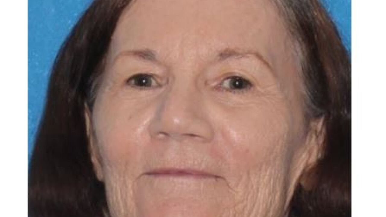 Linda Jump, 73, was last seen driving in the area of West Madero drive in Arizona City. She was driving a red 2008 Dodge Ram Pickup with the Arizona license plate AGV6278.