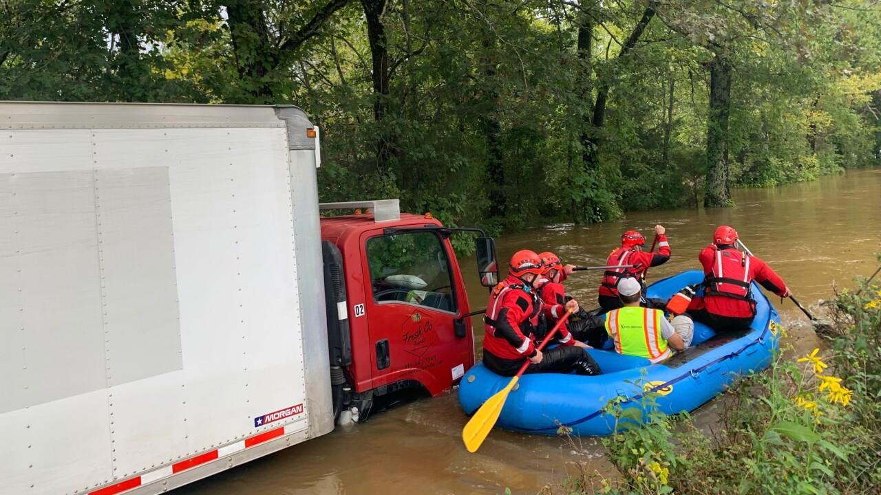 box truck flooded murfreesboro